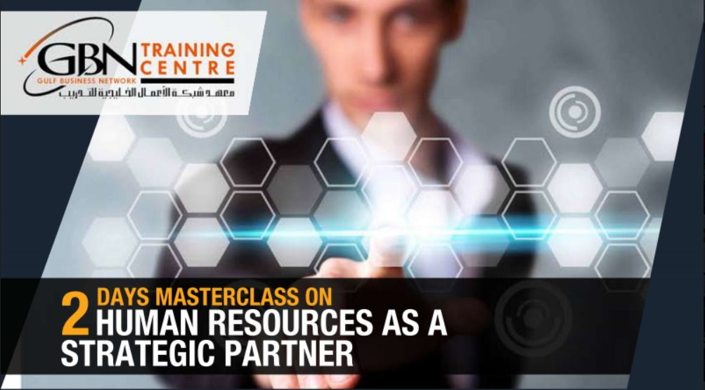 2 DAYS MASTERCLASS ON HUMAN RESOURCES AS A STRATEGIC PARTNER