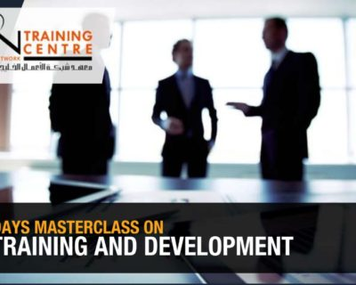 2 DAYS MASTERCLASS ON TRAINING AND DEVELOPMENT