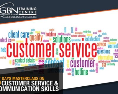 5 DAYS MASTERCLASS ON CUSTOMER SERVICE and COMMUNICATION SKILLS