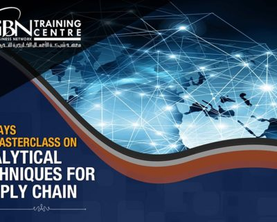 ANALYTICAL TECHNIQUES FOR SUPPLY CHAIN (2 DAYS)
