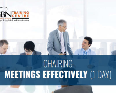 CHAIRING MEETINGS EFFECTIVELY (1 DAY)