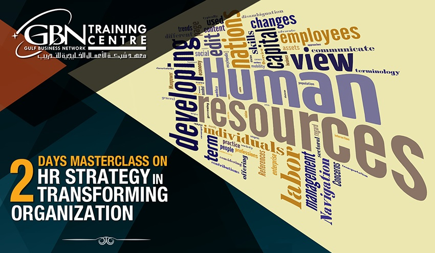 HR Strategy in transforming Organization