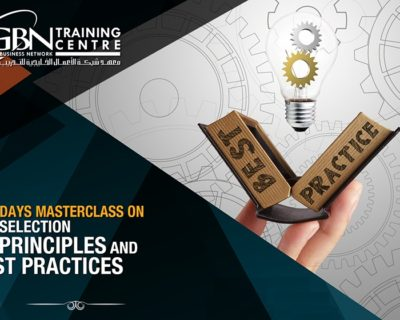 SELECTION PRINCIPLES AND BEST PRACTICES (2 DAYS)