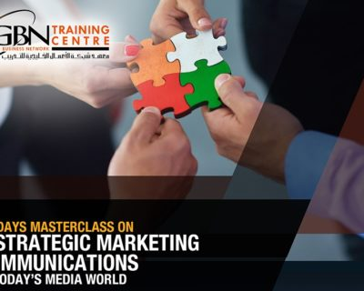 Strategic Marketing Communications in Today's Media World (2 Days)