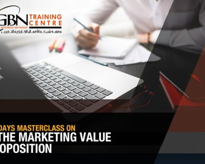 The Marketing Value Proposition (2 Days)