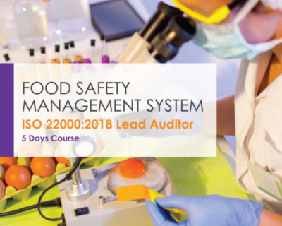 FSMS ISO 22000:2018 Lead Auditor course